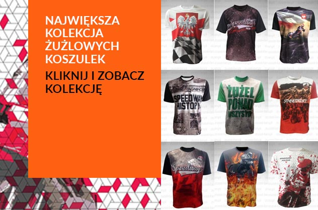 Koszulki żużlowe polska kolekcja