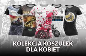Damskie koszulki żużlowe