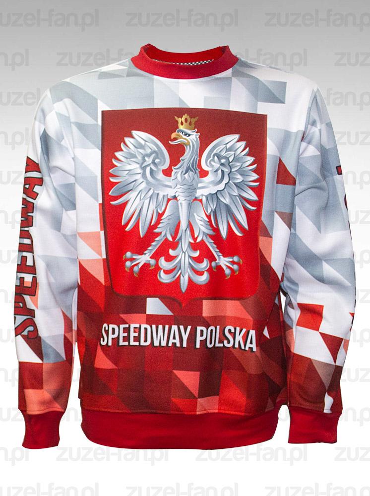bluza biało czerwona polska