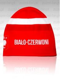 Czapka z nadrukiem - Polska Biało-czerwoni