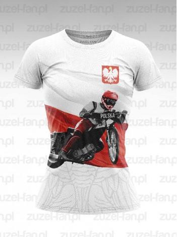 Koszulka Damska Fanatyczki Żużla