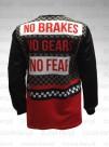 Longsleeve No Brakes No Gears No Fear