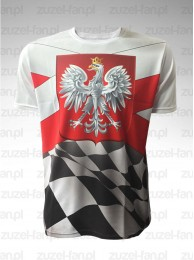 Koszulka Speedway Polska Szachownica