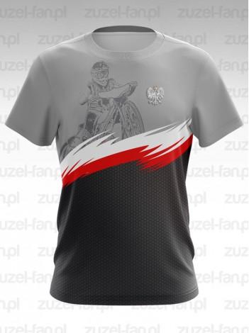 Koszulka Speedway Grey - Polska