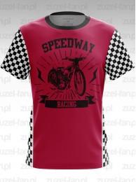 Koszulka Speedway Racing Czerwona