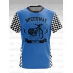 Koszulka Speedway Racing Niebieska