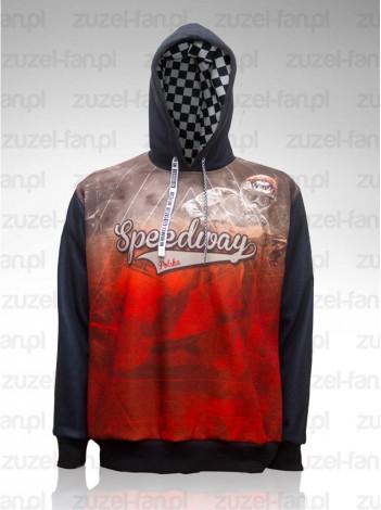 Bluza Speedway Polska z kapturem