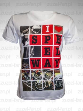 Koszulka I Love Speedway